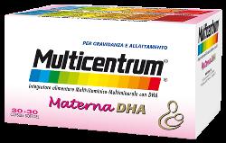 Multicentrum materna : prezzo e composizione