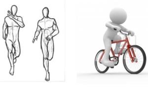Corsa o bicicletta per dimagrire